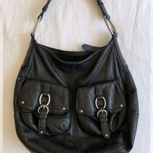 LEATHER HOBO PURSE